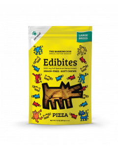 Edibites CBD-Infused Grain-Free Soft Chews for Dogs - Pizza Flavor