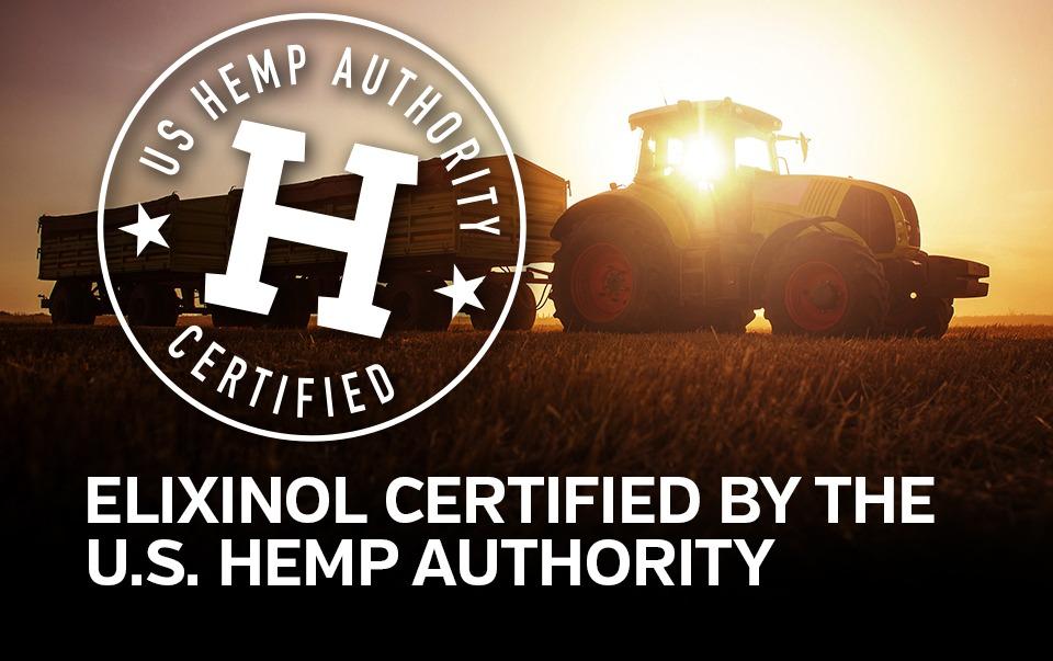 Elixinol is US Hemp Authority Certified